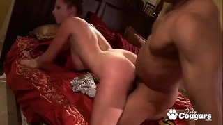 Gianna michaels & her massive all natural mambos receive slammed by a bbc