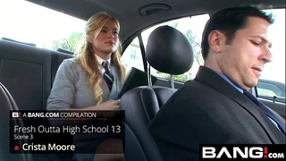 Bang.com: sexy sweethearts new outta high school