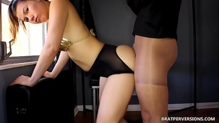 Kinky assjob stockings dream