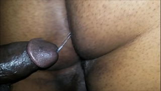 Black bubble booty acquires pounded and creamed unfathomable inside