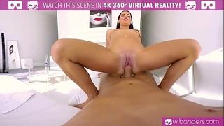 Vrbangers.com hawt dark brown fuck in the butt and cum hard!
