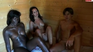 Sauna three-some