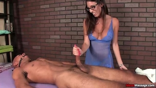 Mm-sexy brunette hair housewife slavemaster ramrod treatment