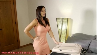 Mom and step son share a sofa hd mandy flores milf