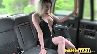 Fake taxi super sexy blond with a great body can't live without knob