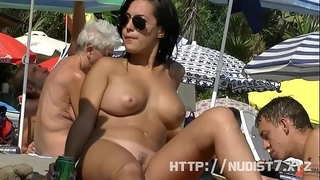 This nudist chicks bare at the beach compilation is truly arousing to see