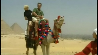 Kitty and nikolette, anal three-some in the desert