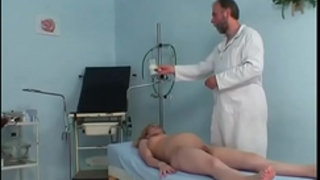 Pregnant cute dirty slut wife riding her gynaecologist's hard prick