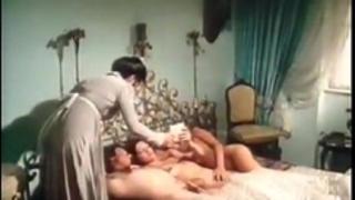 Andrea werdien, melitta berger, hans-peter kremser in vintage sex movie scene