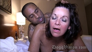 fifty year old swinger horny white wife gilf makes a porn episode