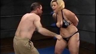 Amazon gina body slammin whore beats up alex