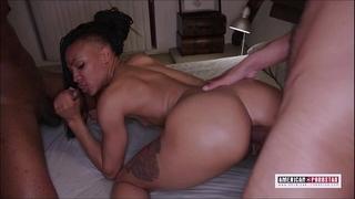 Nikki darling acquires super hawt dp and double vag @american-pornstar