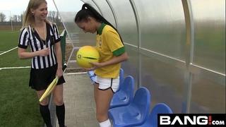Bang.com: scissoring lesbo teenies