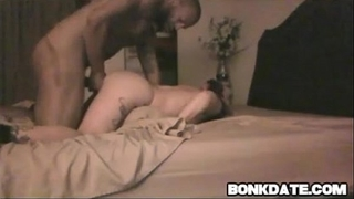 White playgirl acquires tied and drilled doggy position by bbc