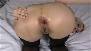 Wet anal gaping farting closeup helena moeller