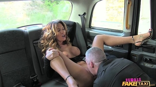 Female fake taxi hot driver can't live without a hard weenie