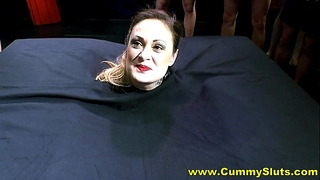 Hot nylons milf acquires overspread in semen