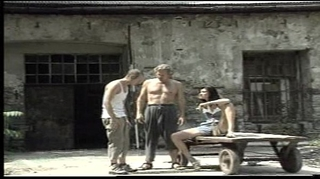 Fucking her anal in the shed (danger in the shed)