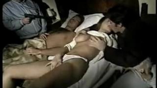 Hot mama hardcore sex with mercenaries