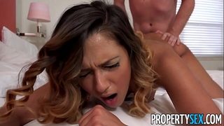 Propertysex - marvelous agent seduces and bonks home owner for signature