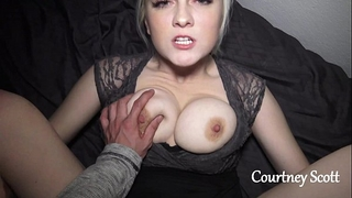Brothers white wife copulates me on camera (courtney scott)