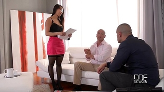 Handsonhardcore - eurasian large ass nympho can't live without double penetration