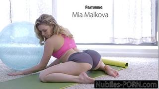 Nubiles-porn mia malkovas yoga fuck - full movie scene
