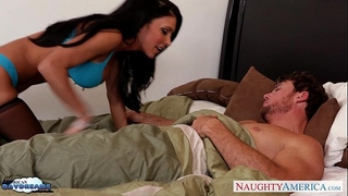 Busty brunette hair in nylons jessica jaymes receives screwed