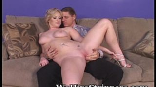 Casting her vagina for guys to fuck