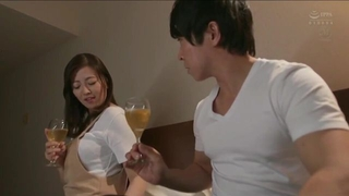 Beautiful Asian housewife gets an intense pussy pounding