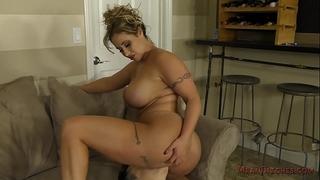 Eva notty makes her serf worship her butt
