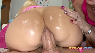 Pervcity anal three-some overdose alana evans, tiffany mynx