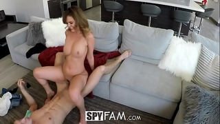 Spyfam step sister dillion harper curious about step brother knob