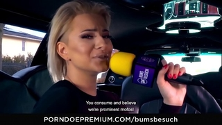 Bums besuch – tattooed porn star sucks and bonks excited newbie