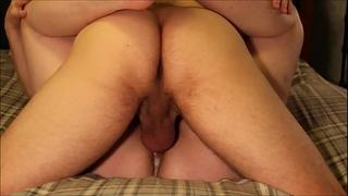 Four hardcore non-professional creampie bonks & eight intensive orgasms