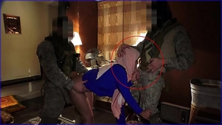 Tour of butt - local working arab wife entertains soldiers for some elementary cash