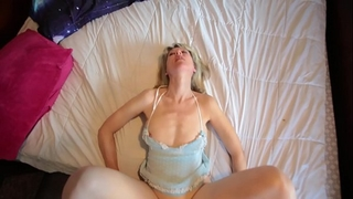 Beautiful old cheating wife lets me fuck her