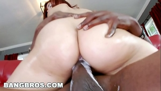 Bangbros - leah cortez creams all over lexington steele's monster rod!