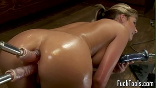 Big butt blond anal and wet crack fucking sex tool
