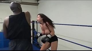 Boxing interracial mix