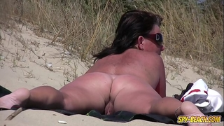 Amateur nudist voyeur chubby milf close-up episode