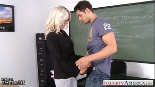 Sex teacher emma starr take shlong in classroom