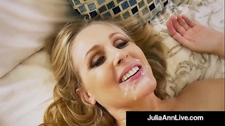 Hot step mother julia ann receives naked & wicked with step son!