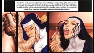 Comic - the confessions of sister jacqueline - español latino